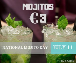 National Mojito Day in Bon Appetit Malahide
