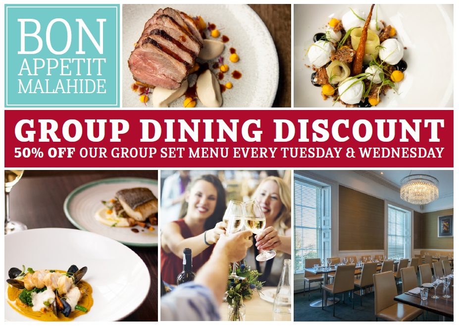 Group Dining Discount Offer